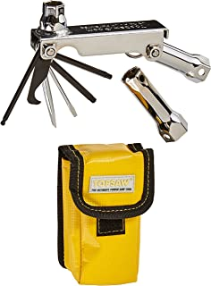 TopSaw TSPWP-BL Multitool for Chainsaws and Outdoor Power Equipment, Chrome/Black/