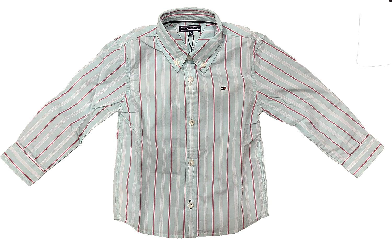 Tommy Hilfiger - Camisa Talla 12-18 Meses: Amazon.es: Ropa y ...