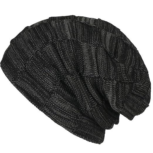 c5006fd4cc6c68 Zando Slack Slouchy Toque Fleece Winter Caps Trendy Knit Best Beanie Soft  Warm Comfort Hats for