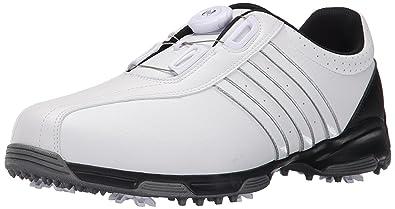 designer fashion 0325f f0ec1 adidas Mens 360 Traxion BOA Golf Shoe, FOOTWEAR WHITEFOOTWEAR WHITECORE  BLACK