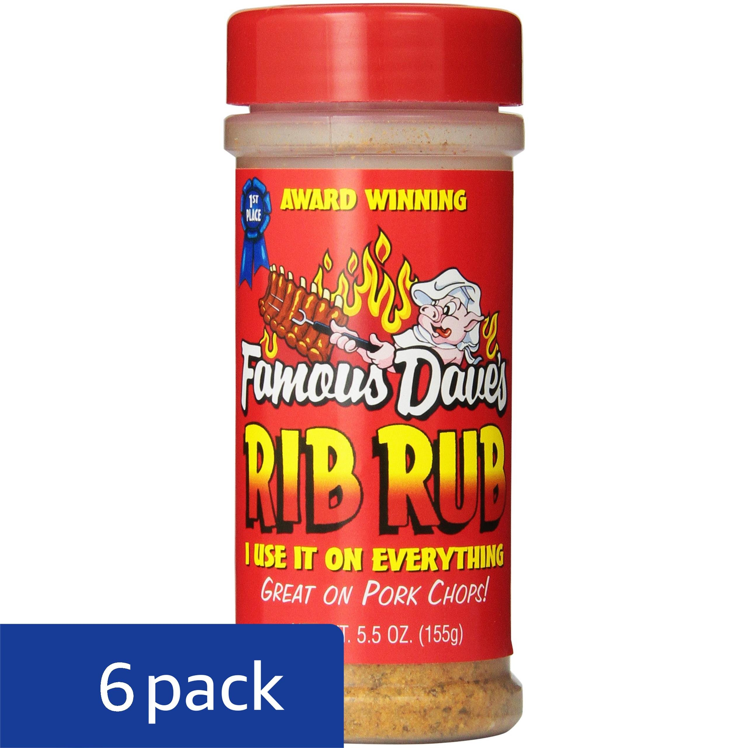 Famous Dave's Seasoning Rib Rub, 5.5-Ounce (Pack of 6) by Famous Dave's (Image #4)