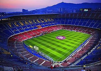 Amazon De Poster Camp Nou Stadion Fussball Fc Barcelona Art