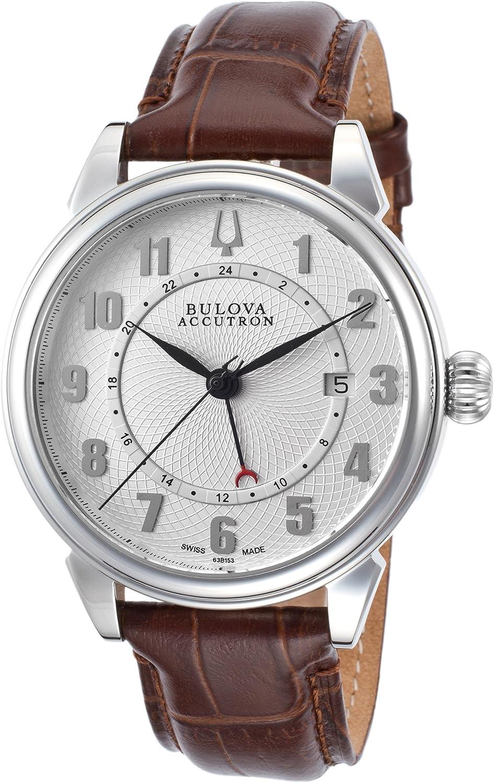 Bulova Accutron Gemini Men s Automatic Watch 63B153