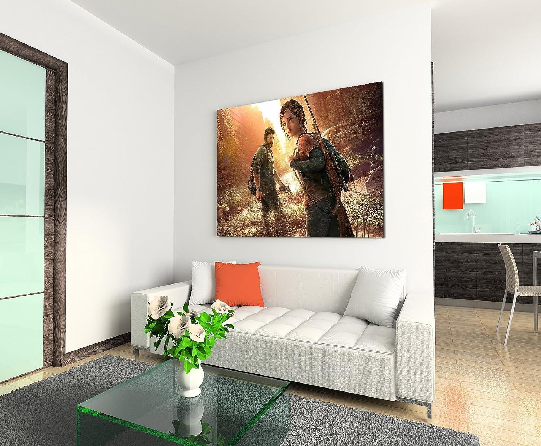 Livina-Wandbilder The Last of Us Tableau imprim/é sur Toile de Lin 120 x 80 cm XXL