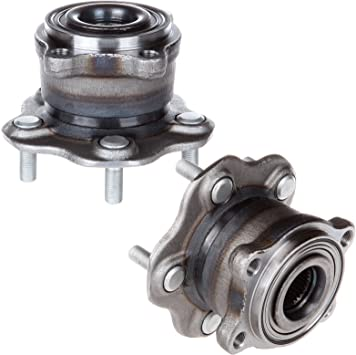 Rear Wheel Hub Bearing Assembly Fit INFINITI M37 2011-2013 PAIR