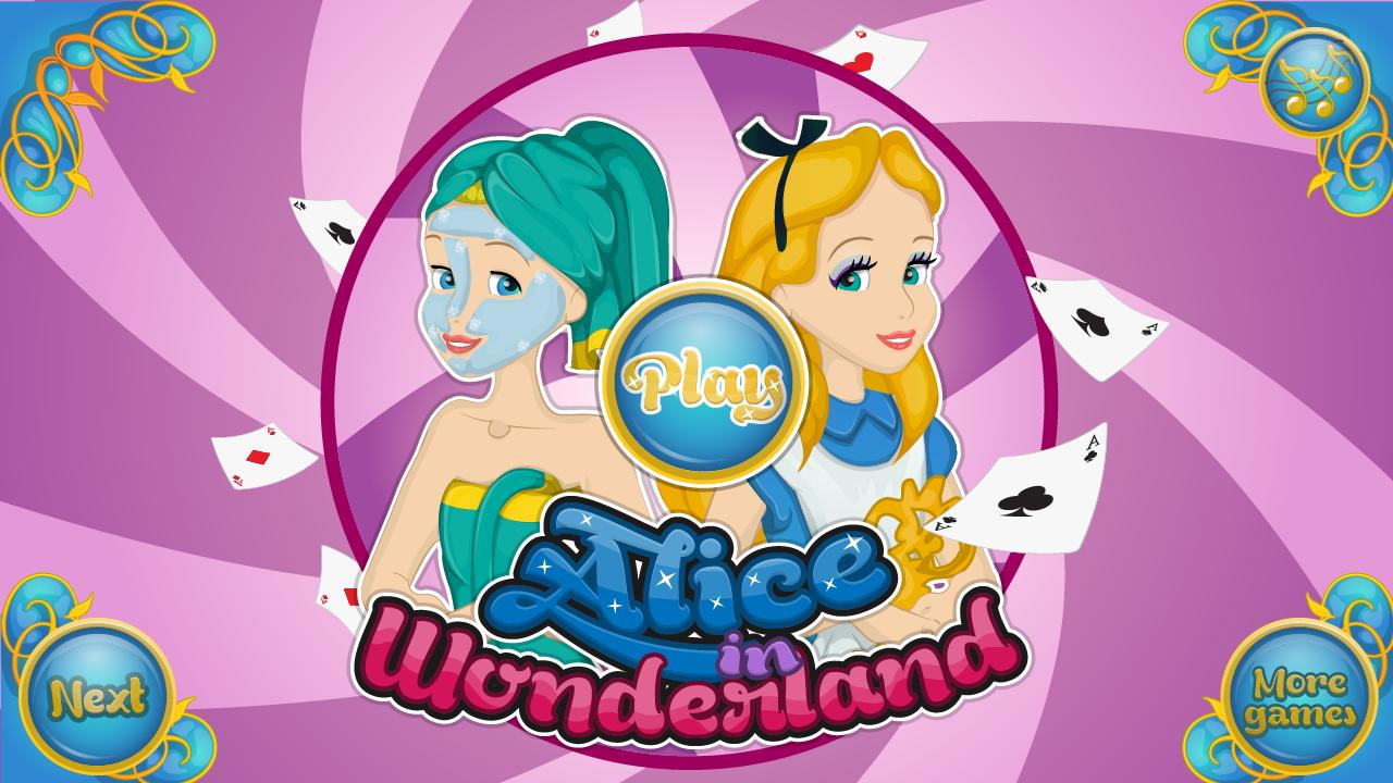 Dress Up Alice In Wonderland Game - My Games 4 Girls