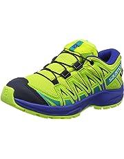 Salomon Kinder XA Pro 3D CSWP J, Trailrunning-Schuhe, Wasserdicht