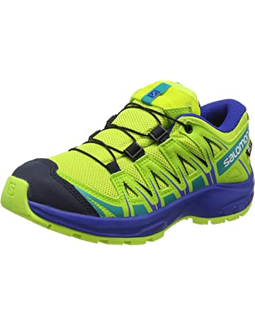 47e836ff7487 Salomon Unisex Kids  Xa Pro 3D CSWP J Trail Running Shoes