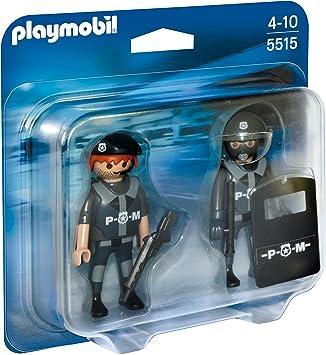 Playmobil 5515 Playmobil Playmobil 5565 *SEK Team mit Polizeihund*