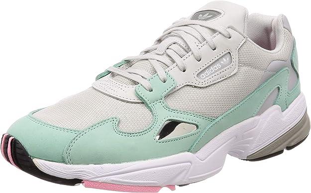 Querer bisonte trampa  Adidas Falcon W - Falcon para Mujer, Color Gris/Gris/Verde, Grey/Grey/Easy  Green, 7 M US: Amazon.com.mx: Ropa, Zapatos y Accesorios