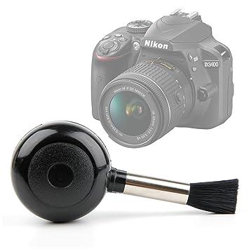 DURAGADGET Bomba Limpiador De Lentes para Cámara Nikon D3400 + ...