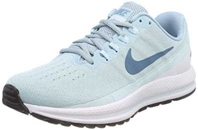 764aad44354dc Image Unavailable. Image not available for. Color  NIKE Women s Air Zoom  Vomero 13 Ocean Bliss Noise Aqua Running Shoe ...
