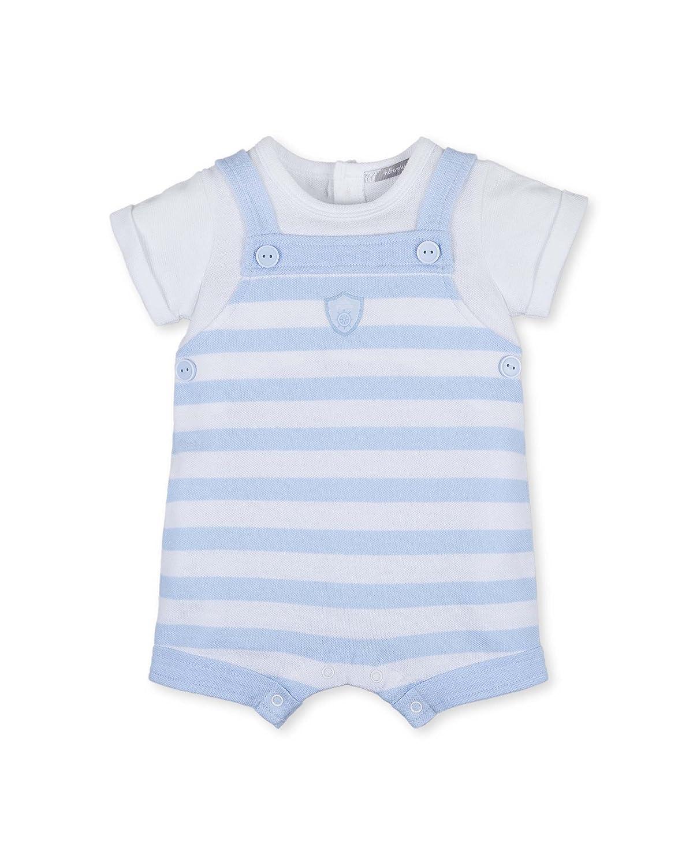 Tutto Piccolo La Mer, Pelele para Bebés, (Blanco/Celeste), 62 (Tamaño del Fabricante:3.M): Amazon.es: Ropa y accesorios
