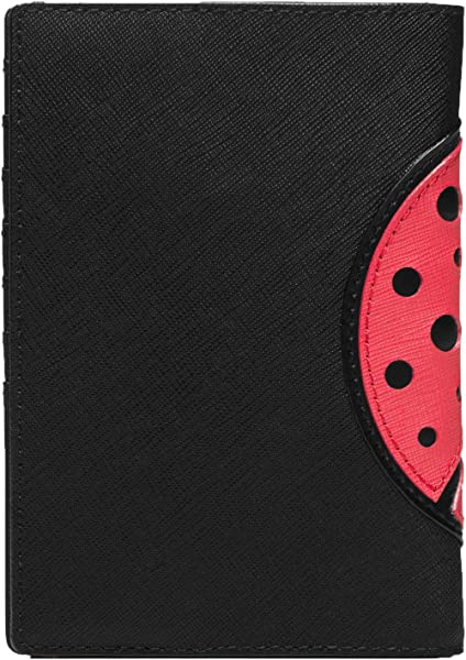 1d8b52f26505 Amazon.com  Kate Spade Turn Over a New Leaf Ladybug Passport Holder ...