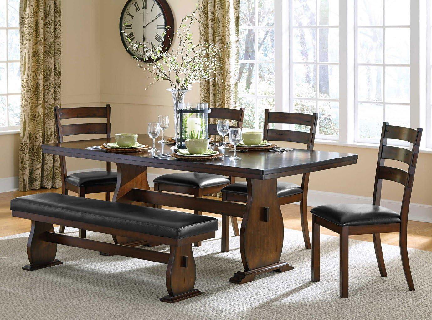 Amazon Com Campbell Dining Room Set Furniture Decor