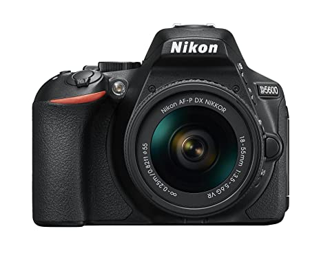Nikon D5600 DX-format Digital SLR w/ AF-P DX NIKKOR 18-55mm f/3. 5-5. 6G VR at amazon