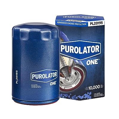 Purolator PL20205 Blue Single PurolatorONE Advanced Engine Protection Spin On Oil Filter: Automotive