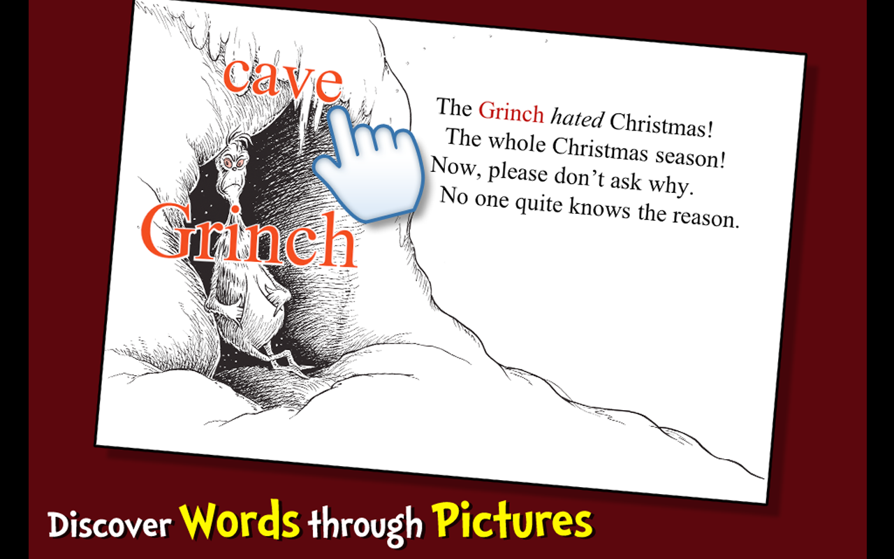 amazoncom how the grinch stole christmas dr seuss appstore for android