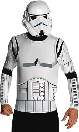 Star Wars Stormtrooper Kids All in One Boys Childrens Fleece Onesie Fancy Dress Outfit Costume White