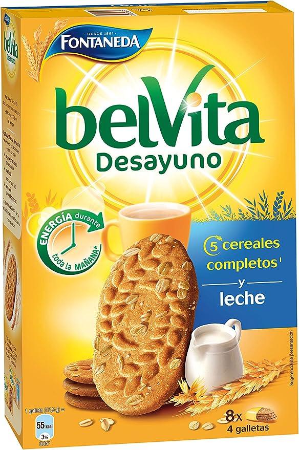 Belvita Galletas con Leche y 5 Cereales Completos ...
