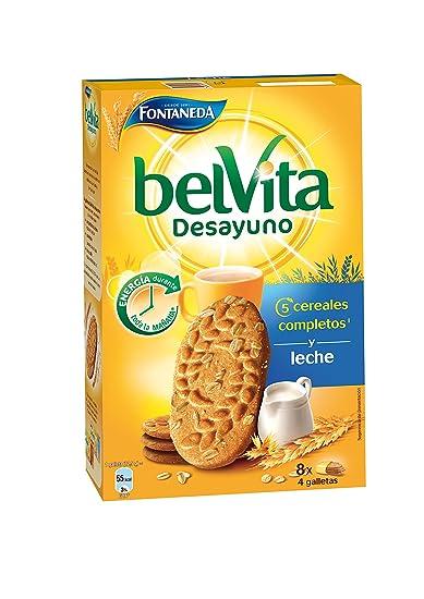 Bel Vita Desayuno - Galleta de Cereales con Leche, 400 g - [Pack de