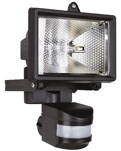Smartwares BYRES120 Foco halógeno con Sensor Exterior de 120W Incluido 2250lm ES120, 120 W,