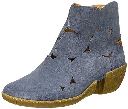 El Naturalista N5483 Lux Suede Vaquero/Caliza, Botines para Mujer: Amazon.es: Zapatos y complementos