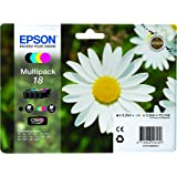 Epson XP30/ 202/ 302/ 405 Standard Capacity Ink Cartridges - Black/ Cyan/ Magenta/ Yellow (Pack of 4)