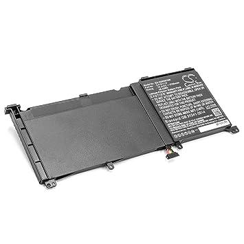 vhbw Litio polímero batería 3700mAh (15.2V) para Ordenador portátil Laptop Notebook como ASUS