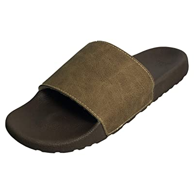 George Hip Men's Casual Slide Slipper with Sherpa Lining | Slippers