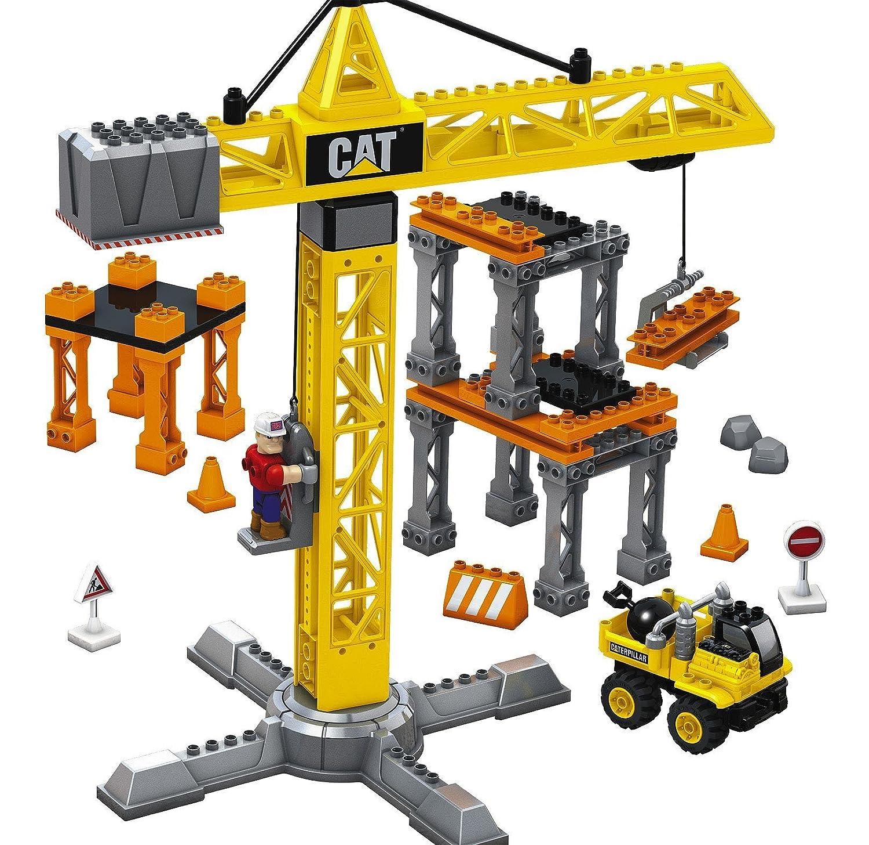 Mega Bloks Cat Super Tower Crane Amazoncouk Toys Games