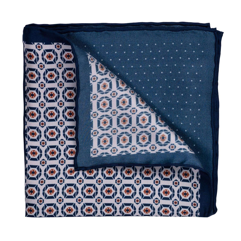 GENTSY Conjunto de corbata y pañuelo para hombre - K73/P16: Amazon ...