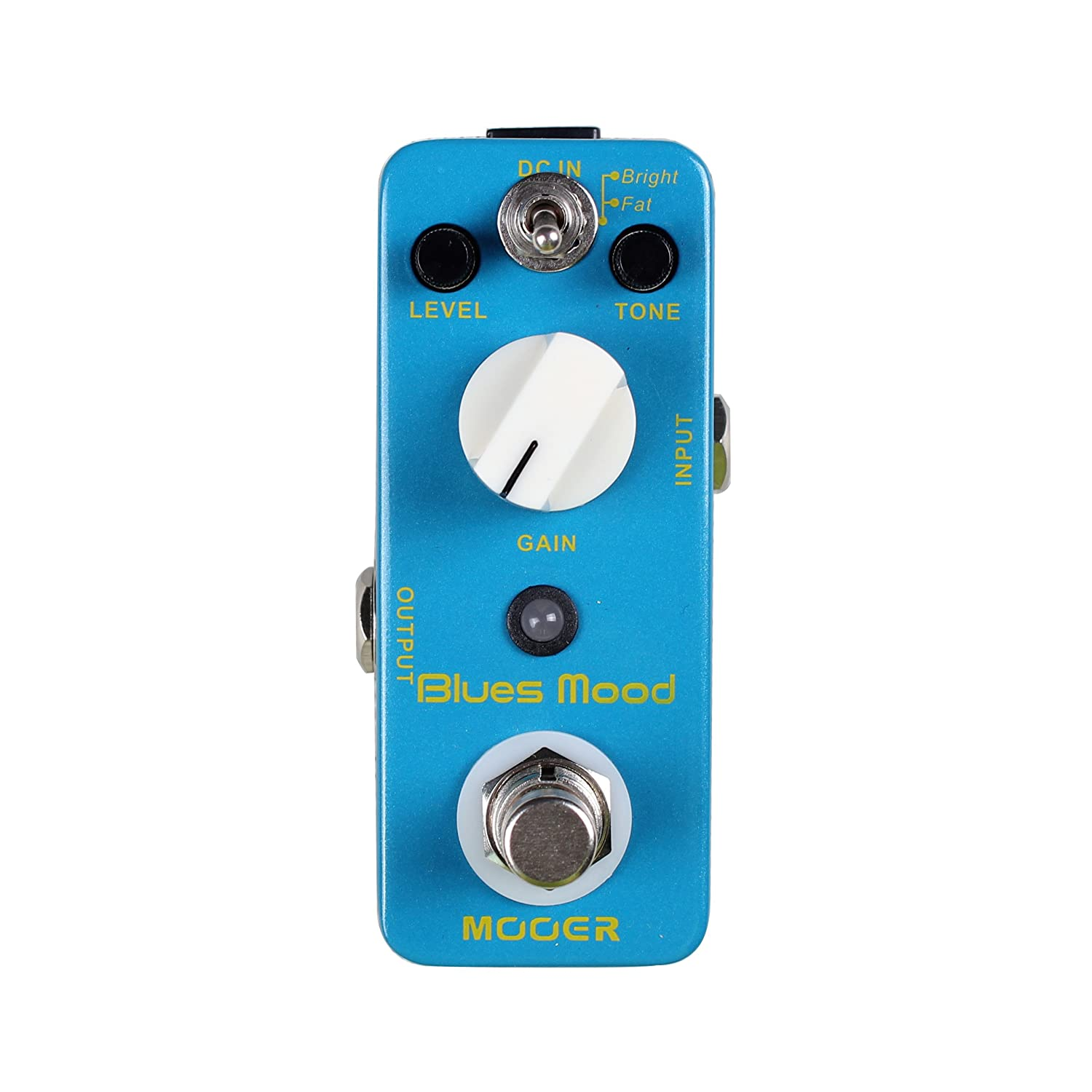 Mooer MBD2 Micro Pedal Series Blues Mood Guitar Distortion Effect Pedal