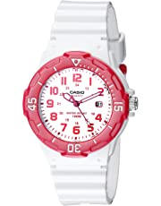 Casio Sports LRW200H-4BV - Reloj analógico para mujer, esfera blanca, 3 manecillas