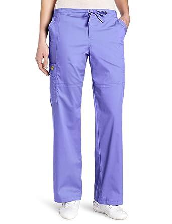 3216d8c0bad16 WonderWink Women s Scrubs Utility Girl Stretch Cargo Multi Pocket Pant