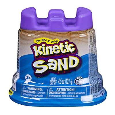 Kinetic Sand – Sand Tank – Blue; A 141 g Kinetic Sand in Jar: Toys & Games