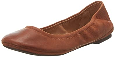 Womens Emmie Comfort Flat, Anthracite, 9 C/D US Lucky Brand