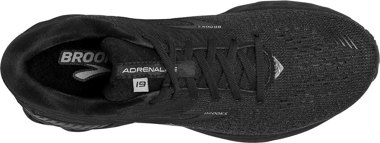 Brooks Adrenaline GTS 19, Scarpe da Corsa Uomo Nero Black Ebony 071