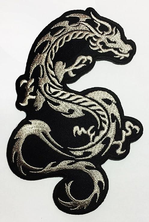 Neo Dragon Tattoo Biker DIY Applique bordado coser hierro en ...