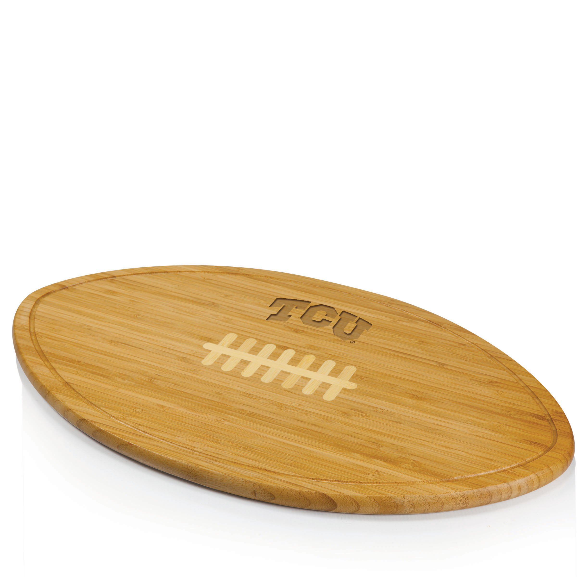 PICNIC TIME NCAA TCU Horned Frog Kickoff Cheese Board
