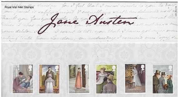 Jane Austen sellos, presentación paquetes, PHQ/postales 2013, color Presentation Pack: Amazon.es: Oficina y papelería