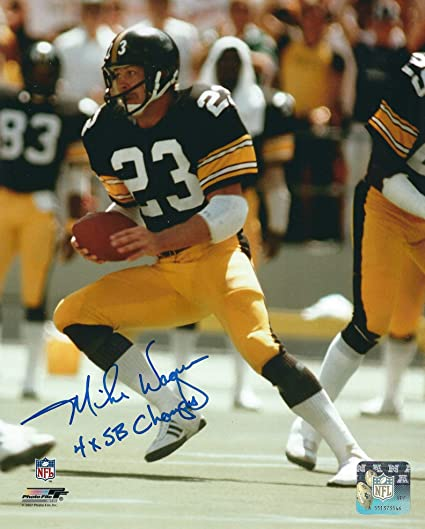 2bb15db47 Autographed Mike Wagner Pittsburgh Steelers 8x10 Photo at Amazon s ...