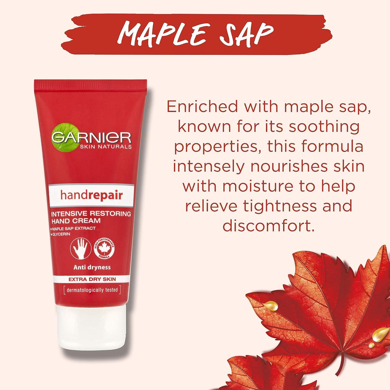 Garnier Skin Naturals Handrepair Intensive Restoring Hand Cream, 100ml