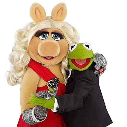 Amazon com: The Muppets Miss Piggy & Kermit The Frog Iron On