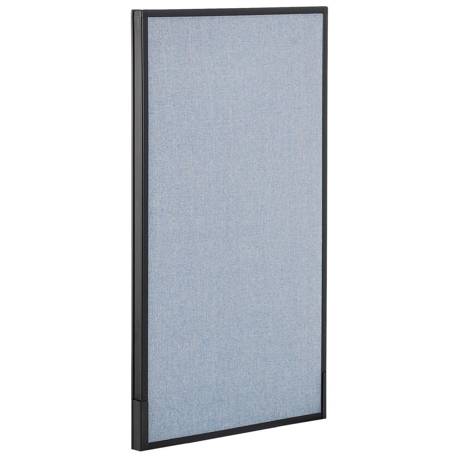 24-1/4''W x 42''H Office Partition Panel, Blue by Global Industrial