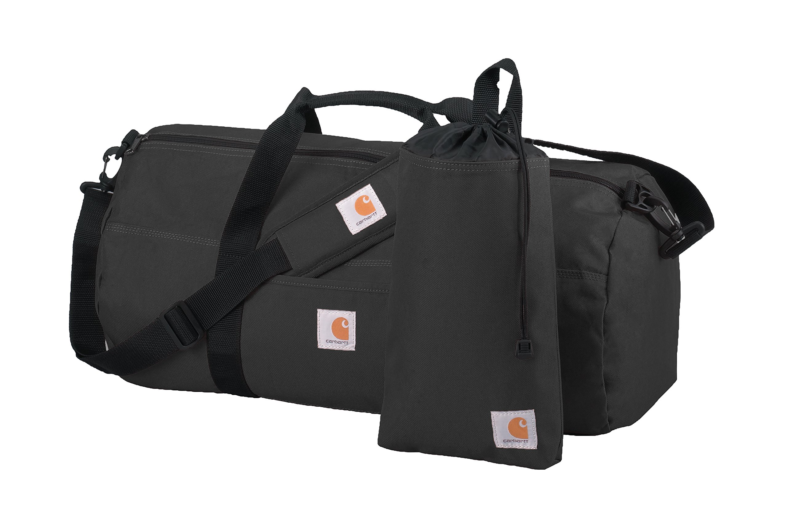Carhartt Trade Series 2 in 1 Packable Duffel with Utility Pouch, Medium, Black