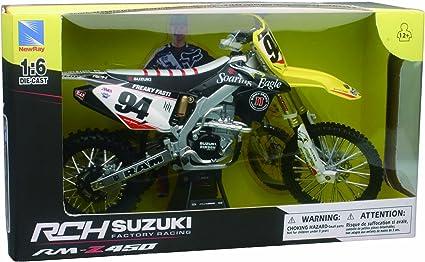 Kawasaki KX450F TwoTwo Chad Reed No.22 2014 Enduro 1//6 nuevo ray modelo motocicletas...