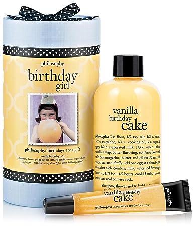 Amazon Philosophy Birthday Girl Bath And Shower Gels Beauty
