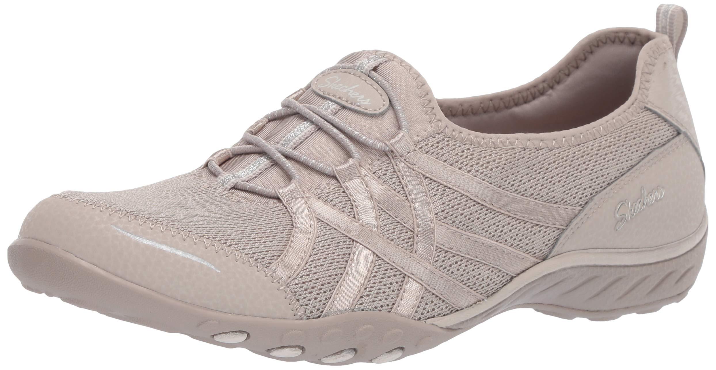 Skechers Women's Breathe Easy - Envy Me Sneaker TPE 5 M US