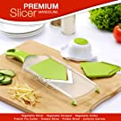 Premium Mandoline Slicer - Vegetable Slicer - Vegetable Chopper - Vegetable Cutter - French Fry Cutter - Tomato Slicer - Potato Slicer - Julienne Carr at amazon